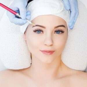 Permanent Make-up für Augenbrauen und Lippen - Rheine Hautsache